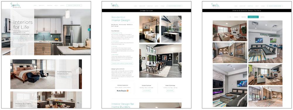 Sparks Interiors Website