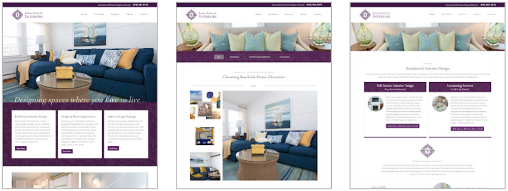 Sarah Schultz Interiors Website