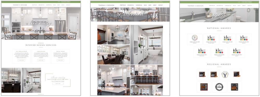 Tanna By Design Website