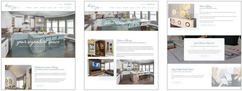 Designs With You in Mind Website