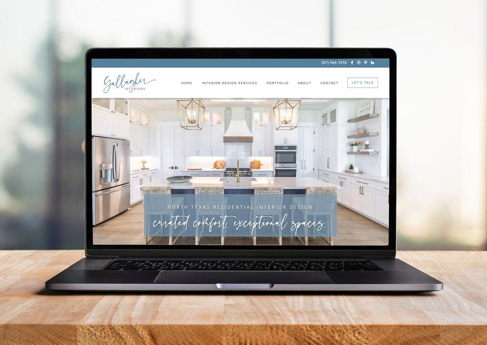 Interior Design Website & Branding