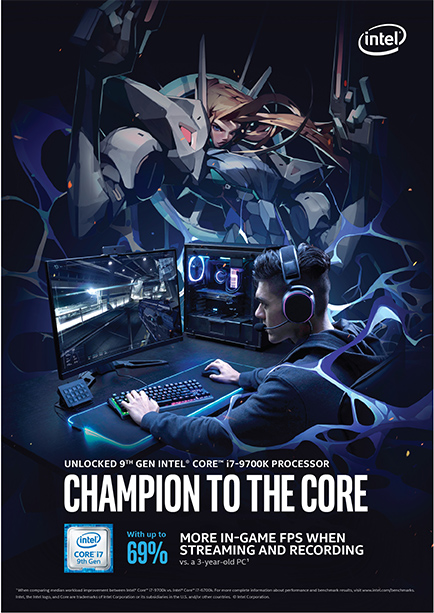 Being the leading Esport Marketing Agency, we designed Intel U.Y.B. Campaign Posters that was adaptable across the globe.