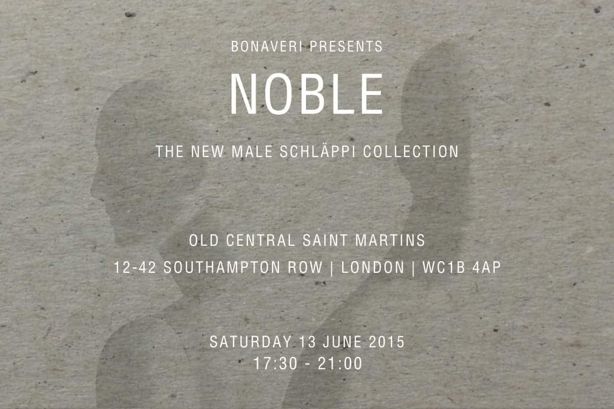 Bonaveri Presents Noble | 13 June 2015