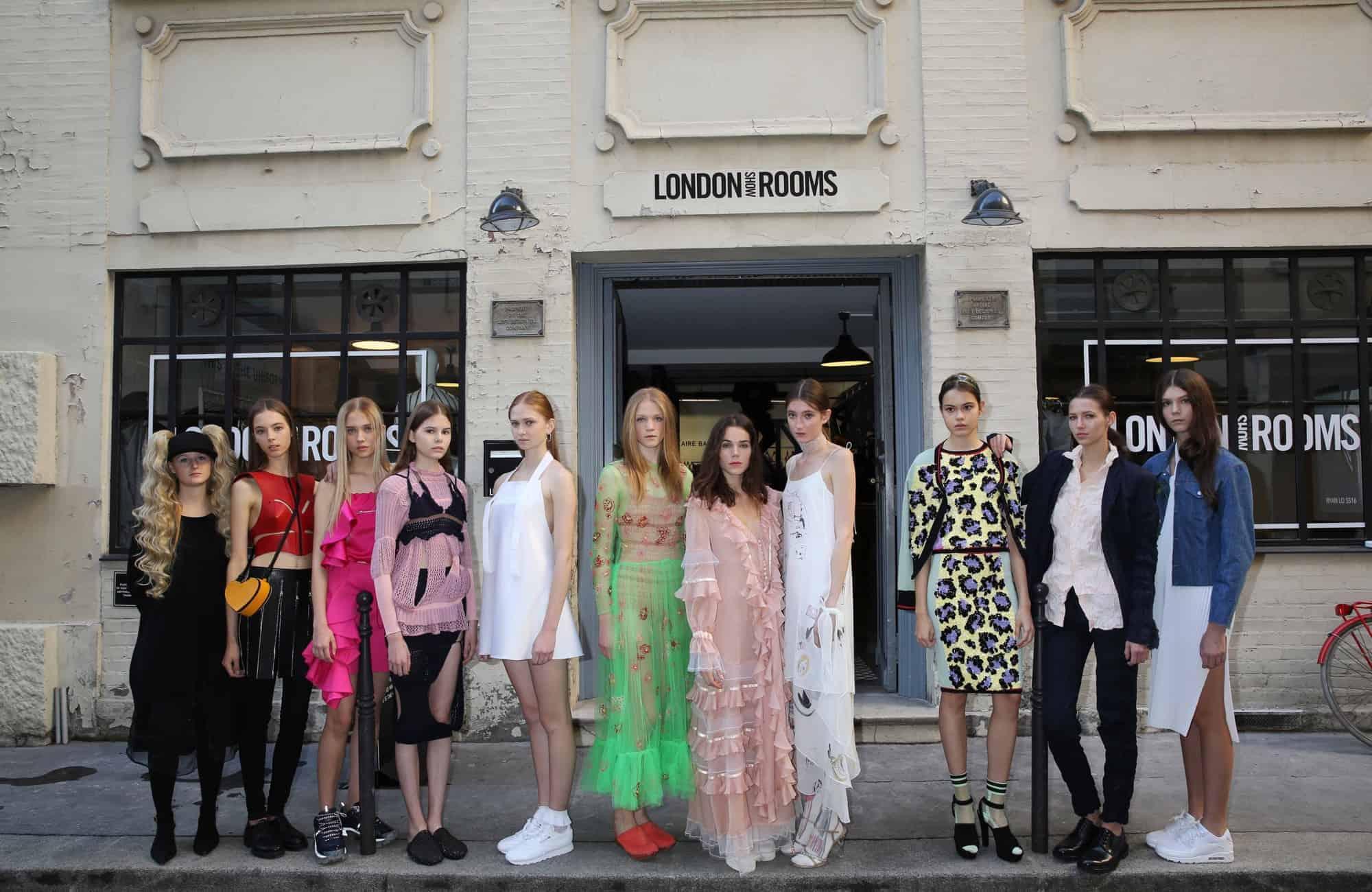 Bonaveri supports London Showrooms Paris SS16
