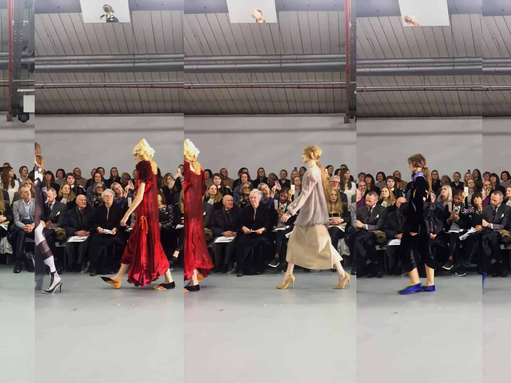 London Fashion Week: Central Saint Martins MA 2016 Show