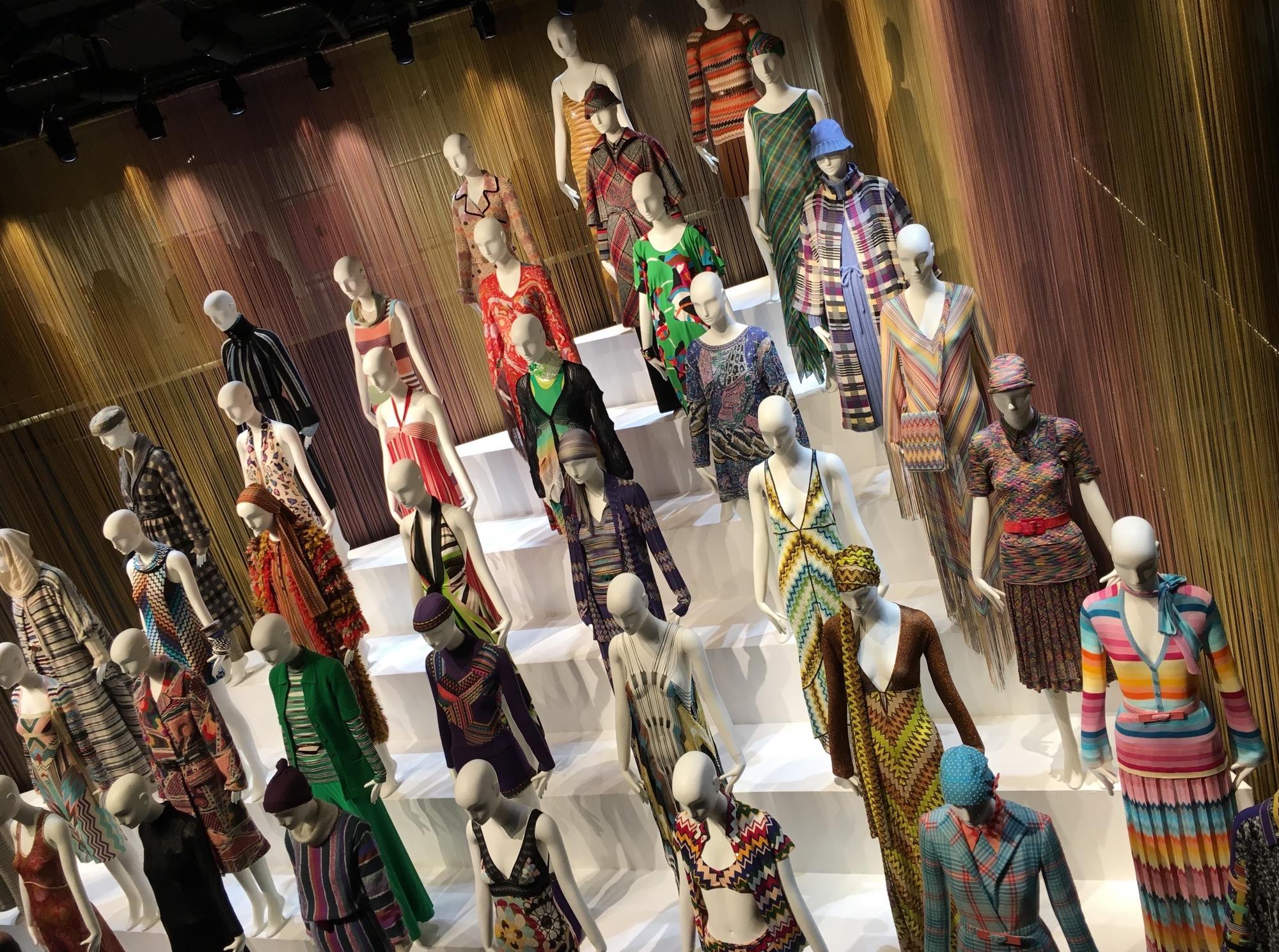 Schläppi 2200 mannequins for London Missoni exhibition