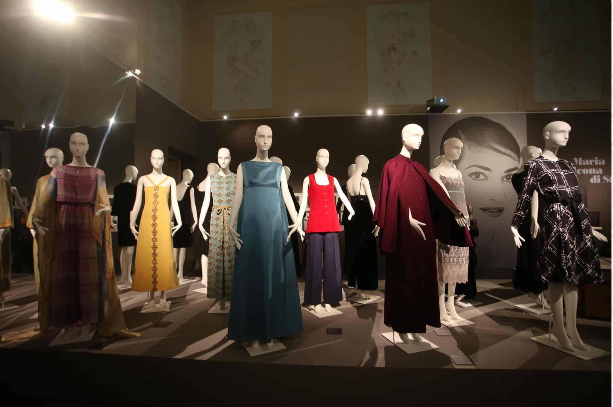 Exhibition of the life of Maria Callas features Schläppi 2200 mannequins