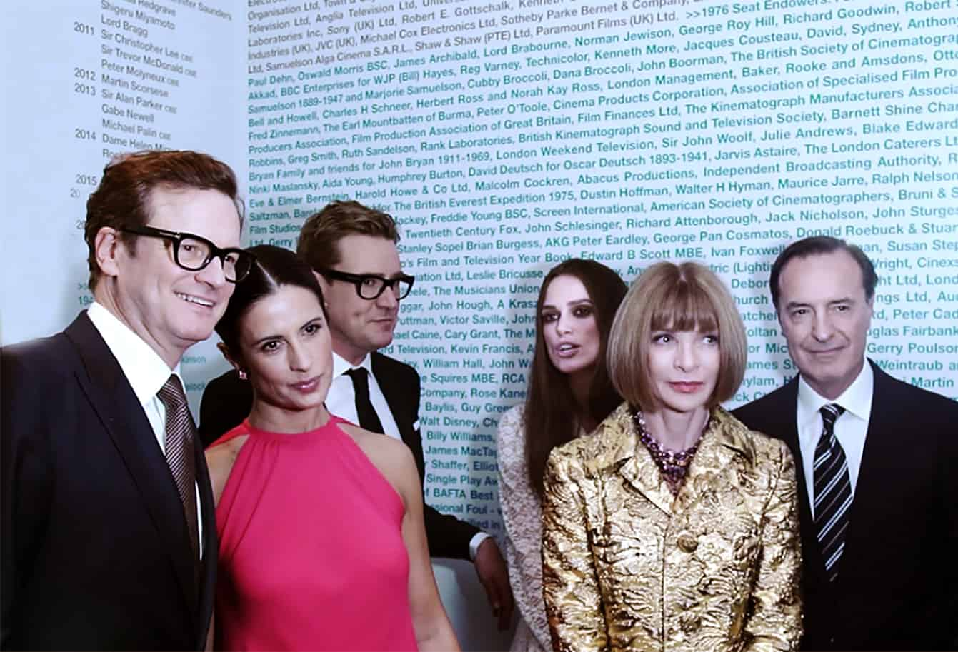 Green Carpet Challenge 2016 at The British Academy of Film & Television Arts