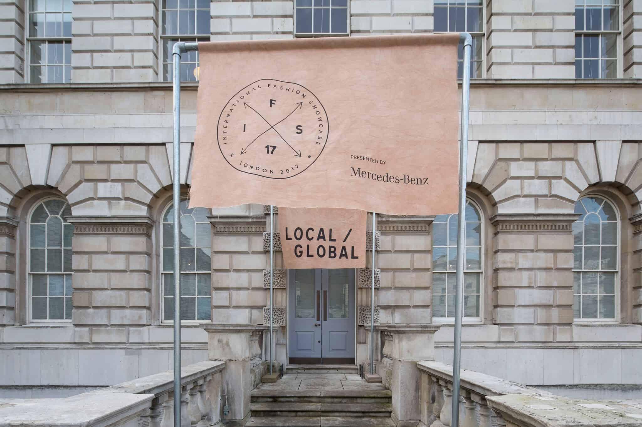 International Fashion Showcase 2017 Awards at Somerset House, London