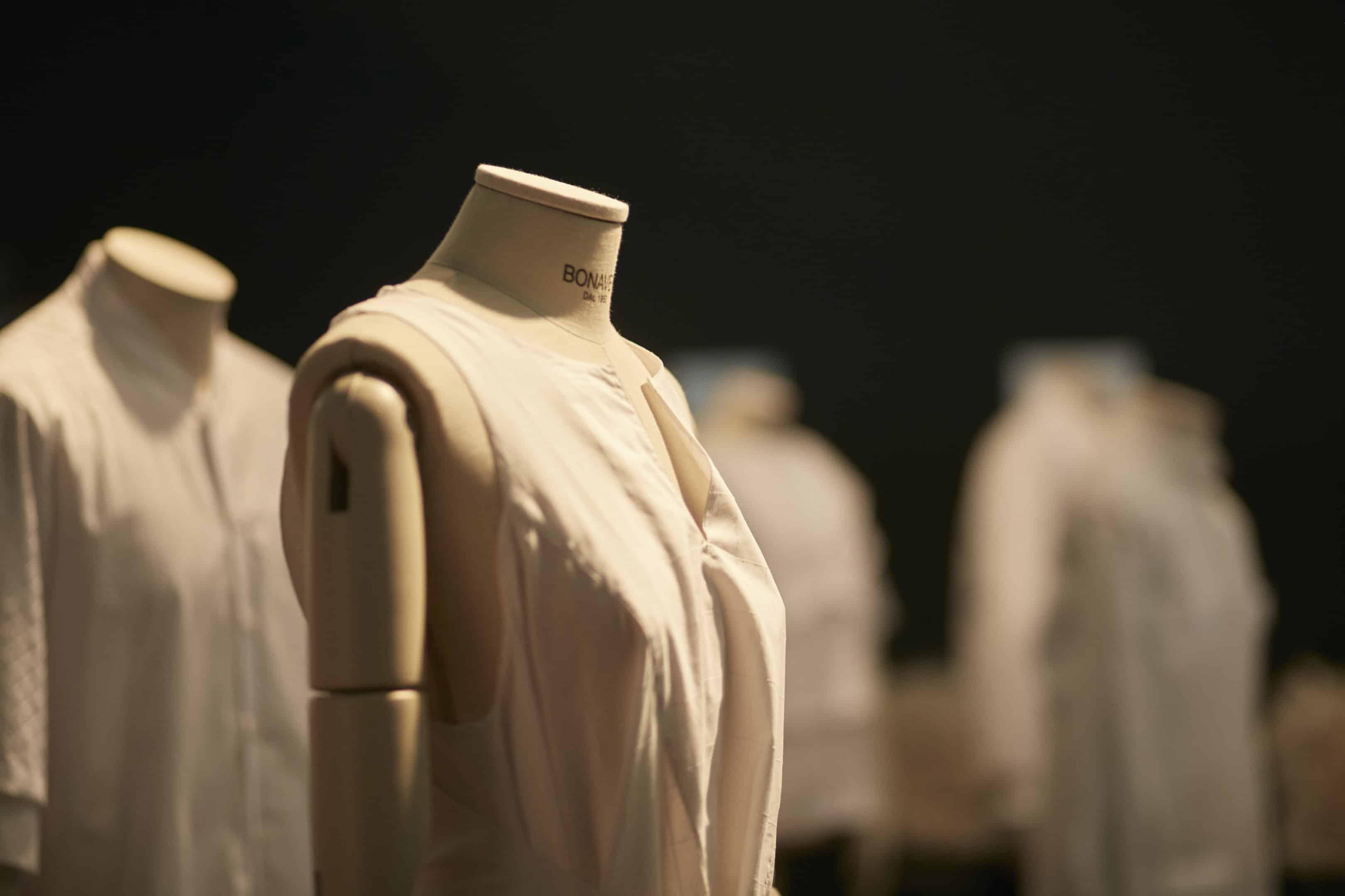 Bonaveri Bust Forms at Milan Fashion Week SS18