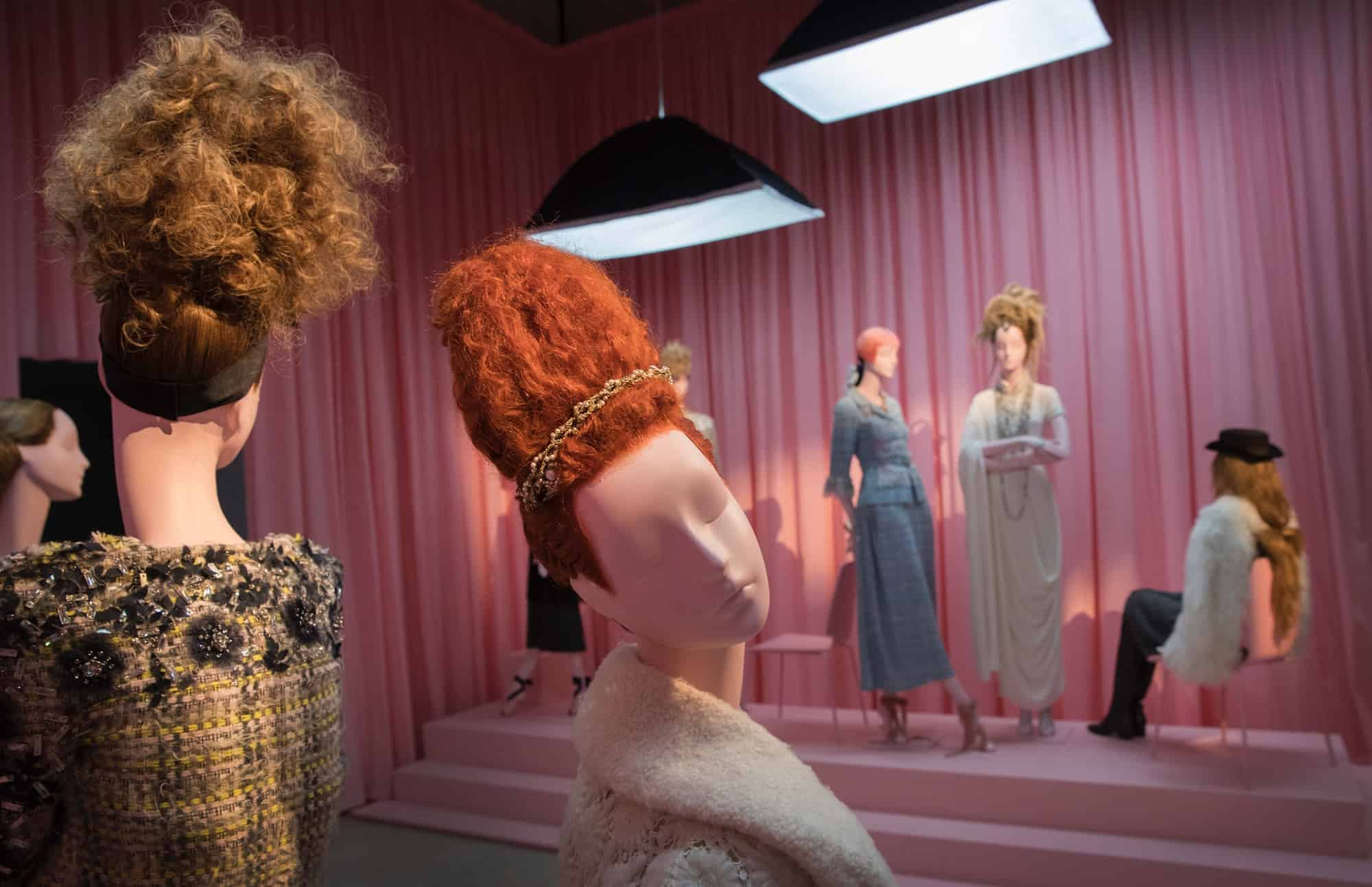 Aloof Mannequins for 'Hair by Sam McKnight' at Somerset House, London