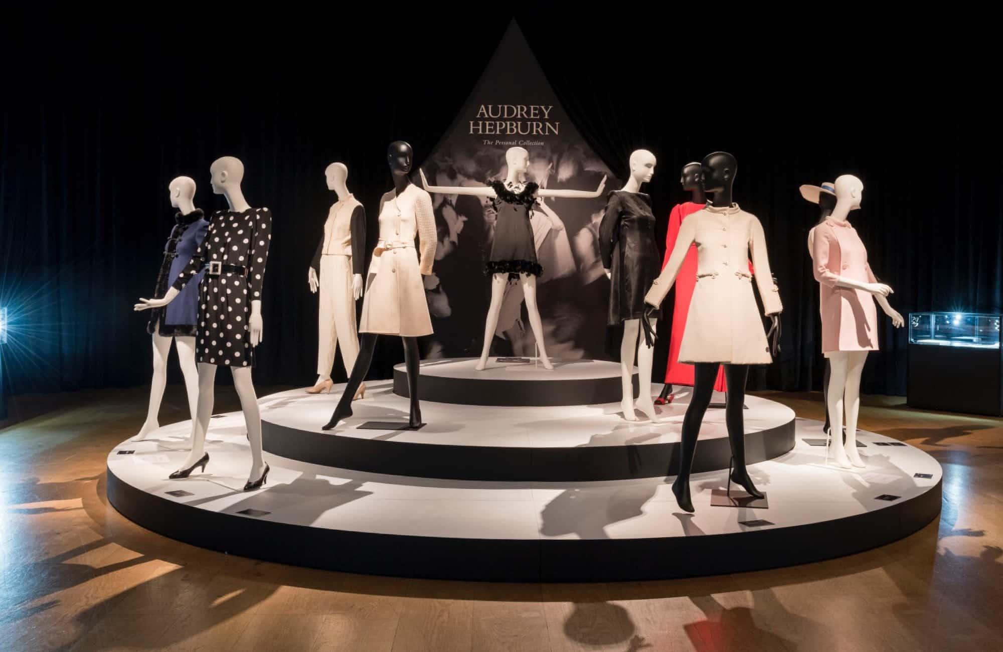 Schläppi 2200 Mannequins for Christie's Audrey Hepburn event