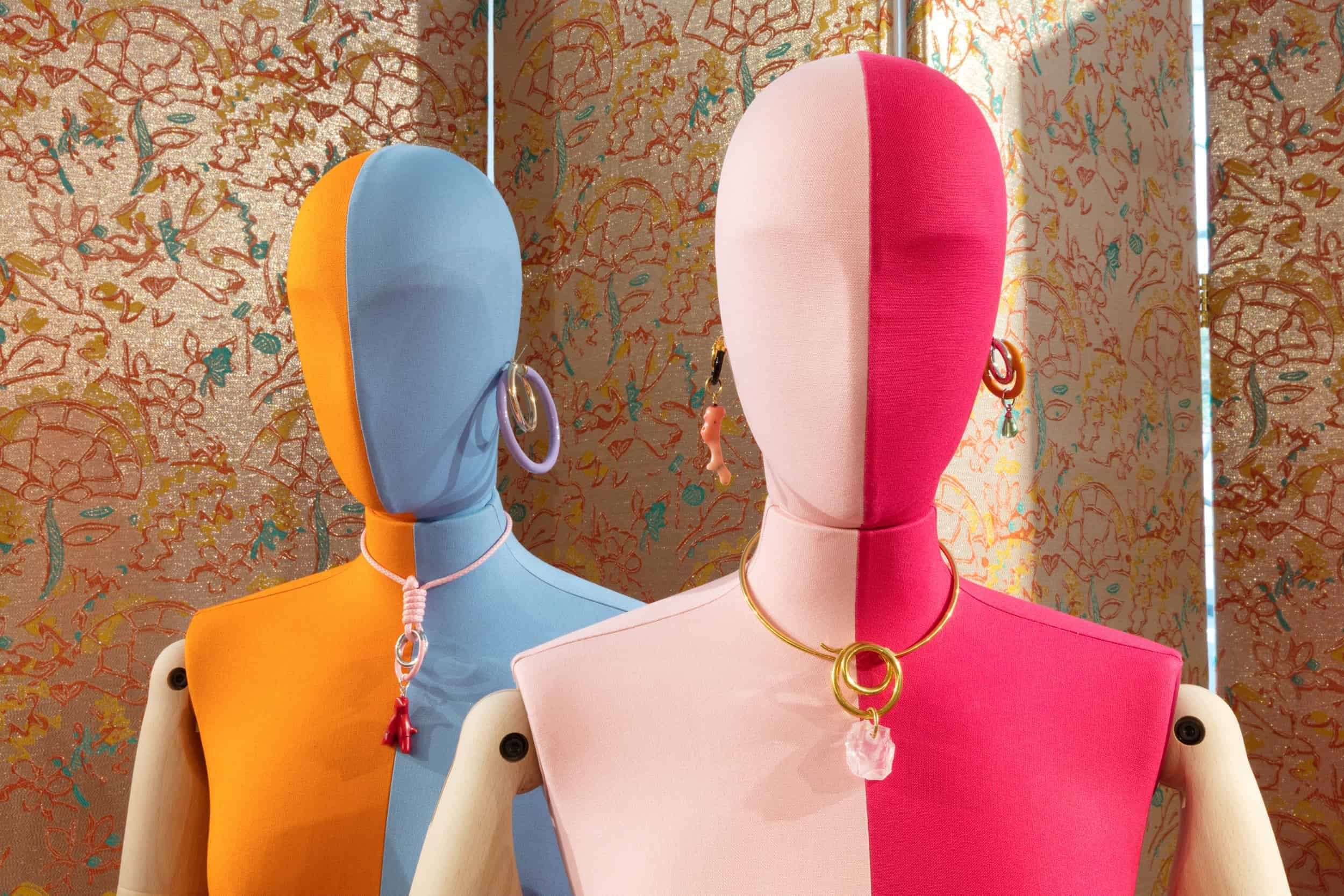 Bespoke Bust Forms for Peter Pilotto at London Design Festival
