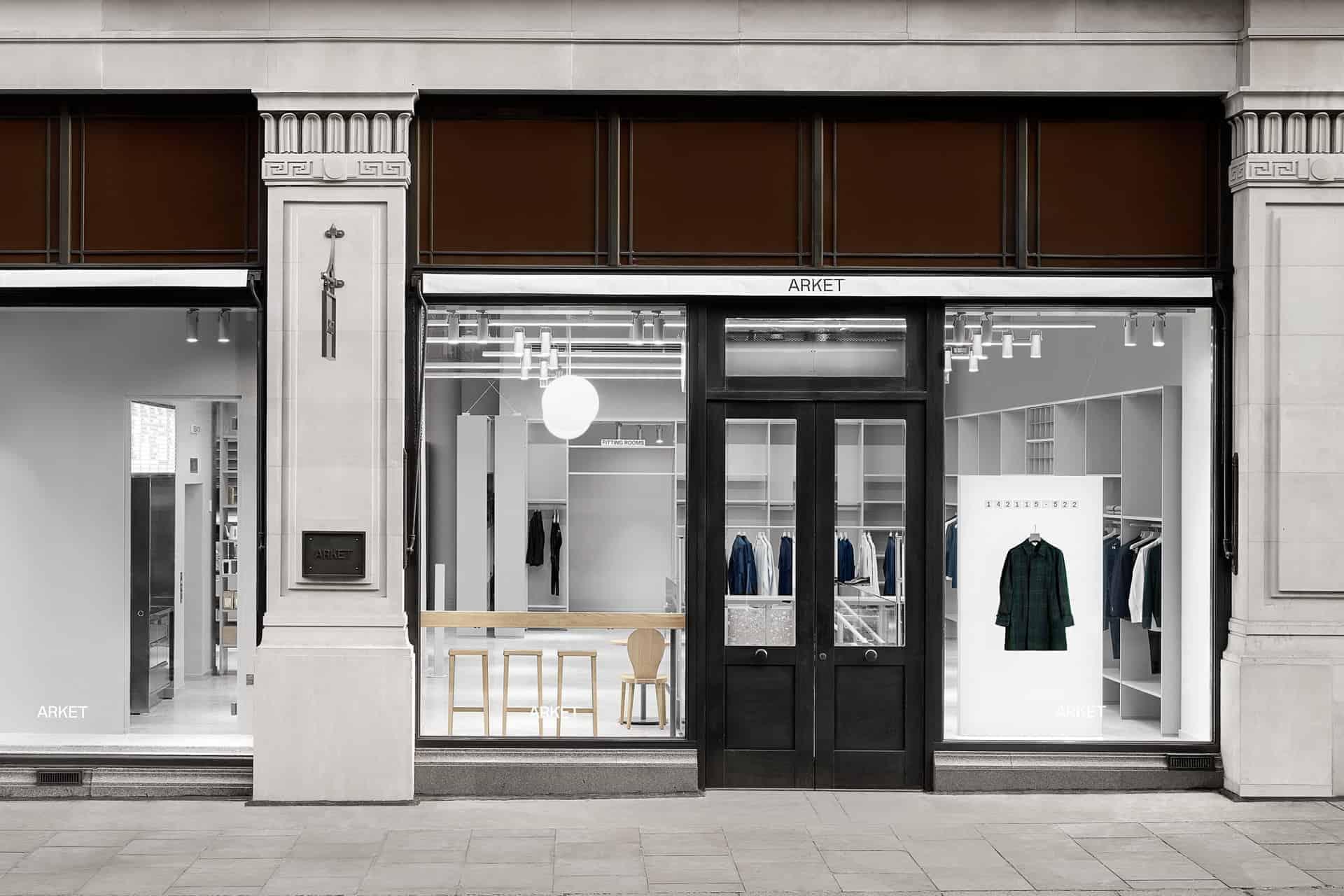 New Retail: H&Ms new brand Arket Regent Street