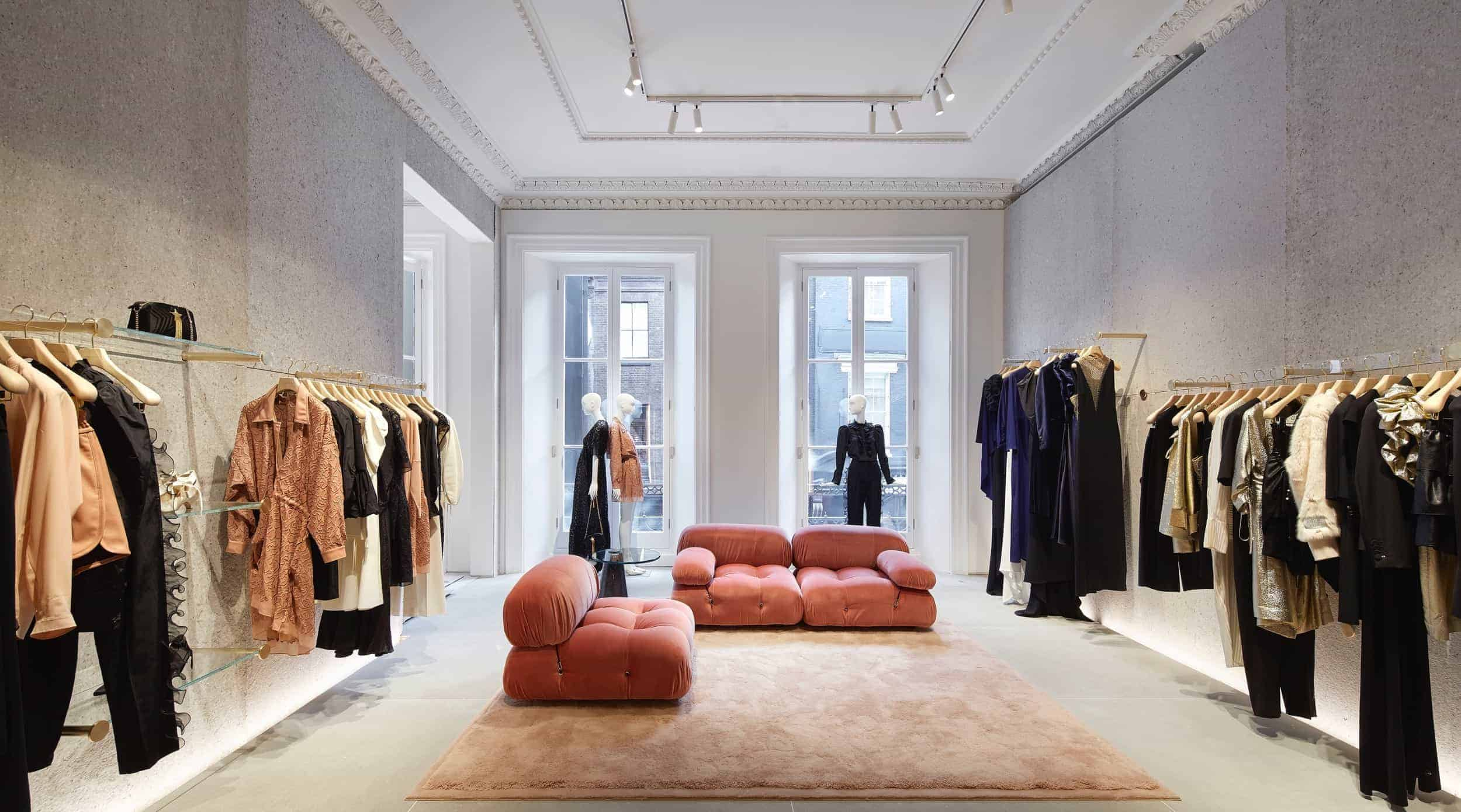 BNATURAL Sustainable mannequins for Stella McCartney, 23 Old Bond Street