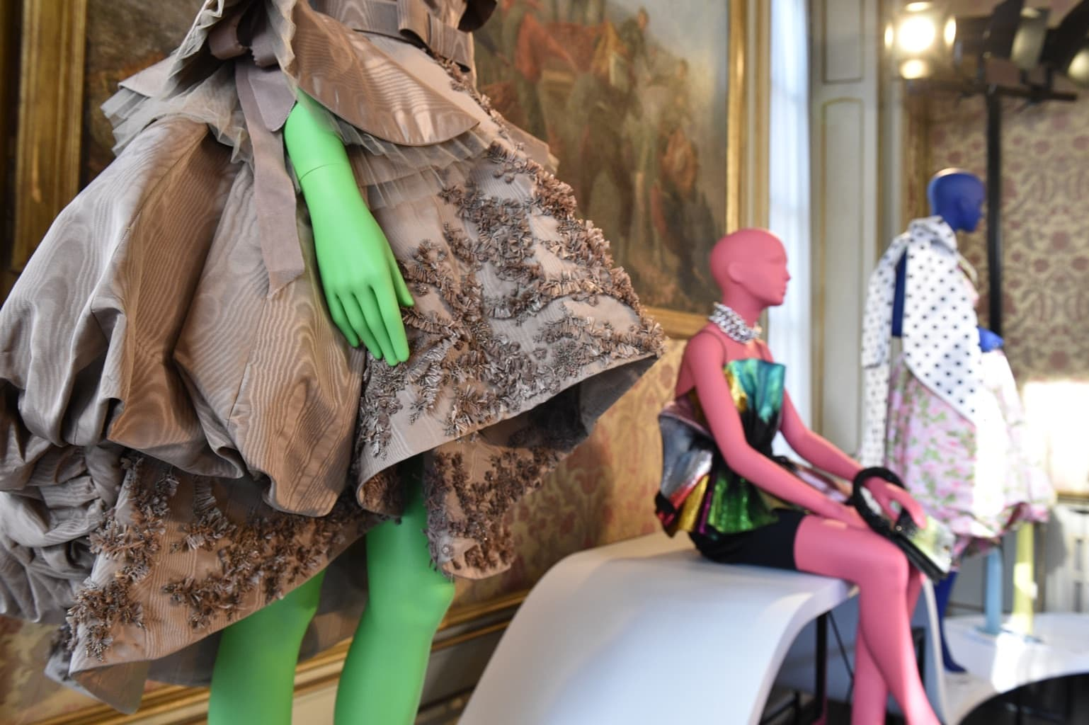 Tribe Mannequins for Vogue Talents