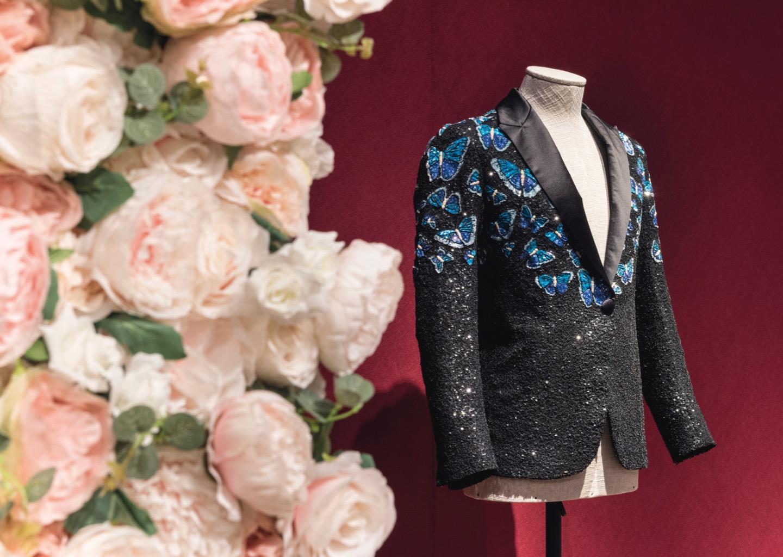 Stage jacket for Mick Jagger by designer L'Wren Scott