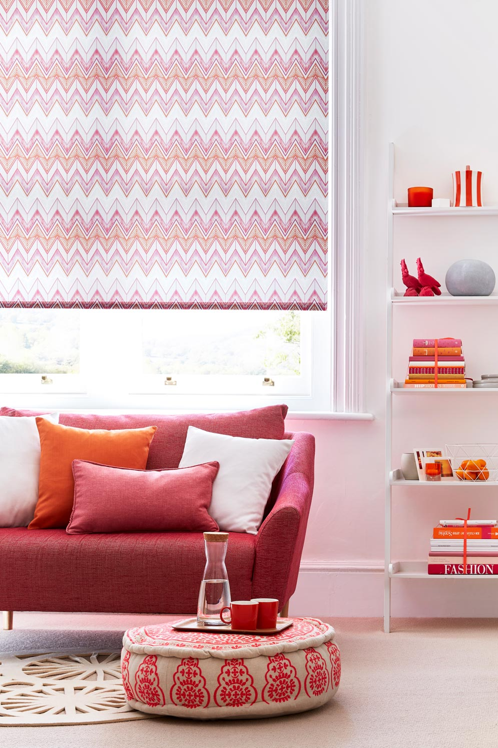 living room roller blinds