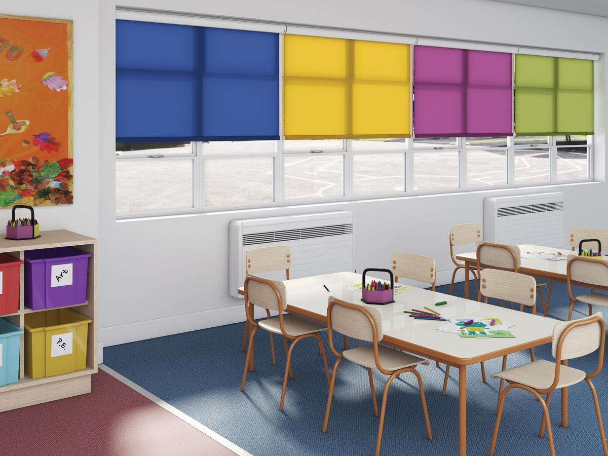 school blinds