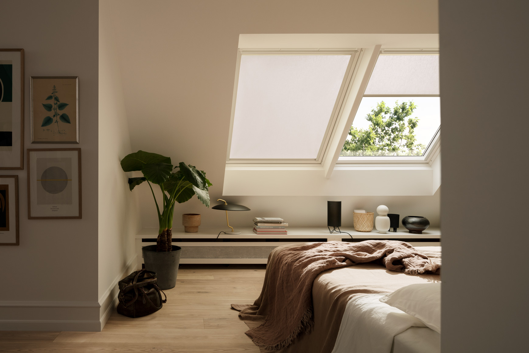 bedroom velux blinds