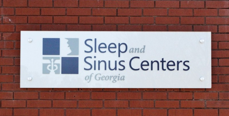 Sleep and Sinus Centers sign