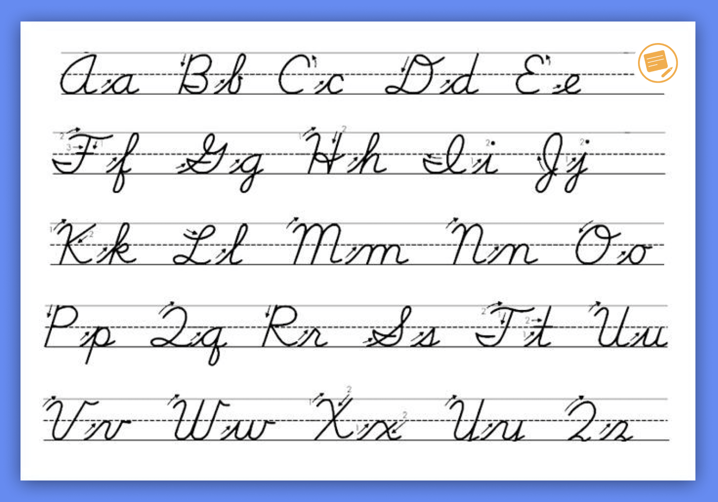 cursive-writing