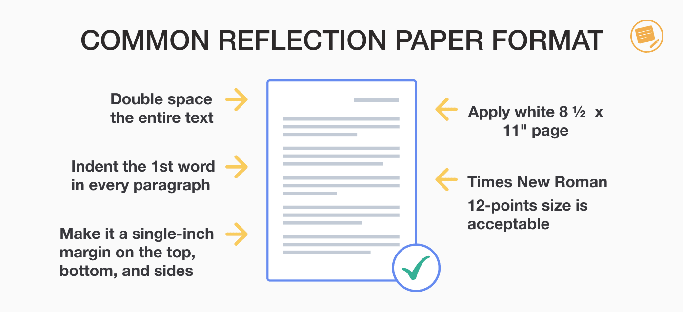 reflection-paper-format