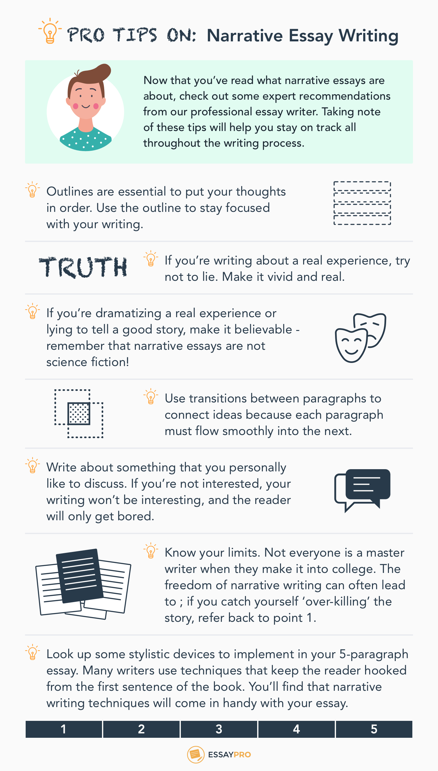 Tips on narrative essay writing