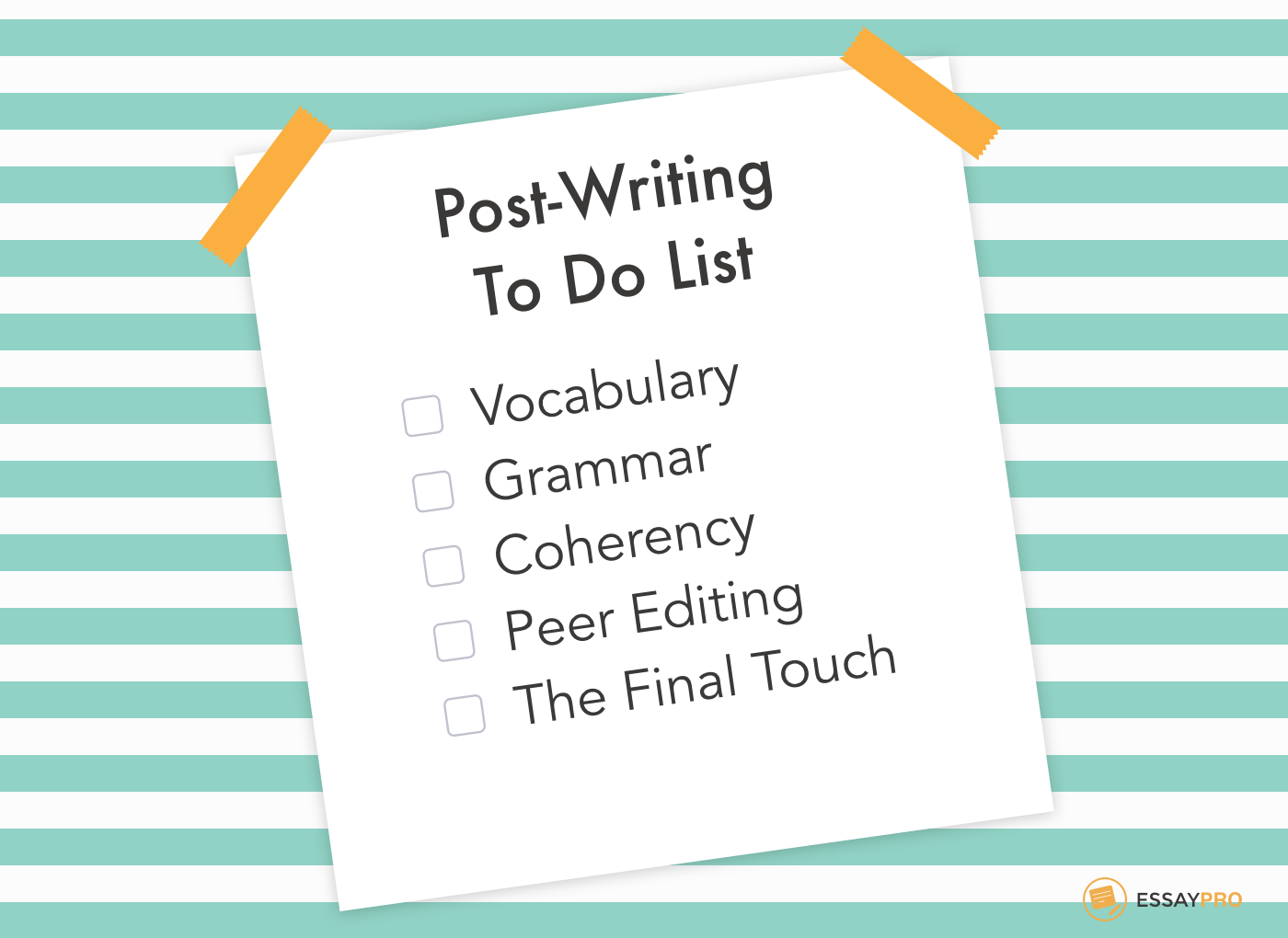 post writing list