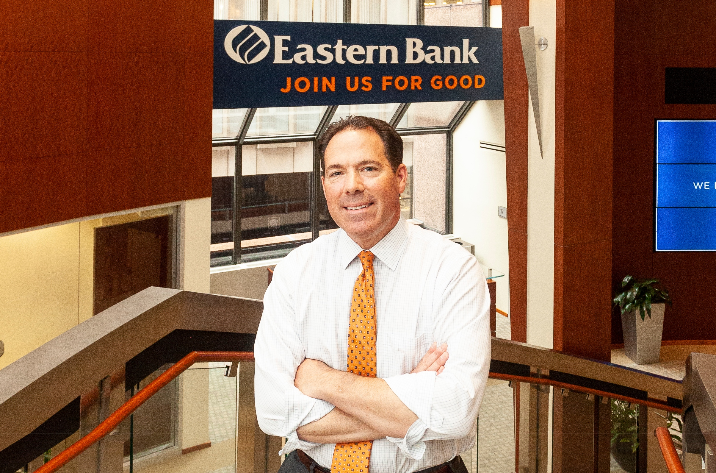 Bob Rivers, Eastern Bank CEO | Banking New England file photo