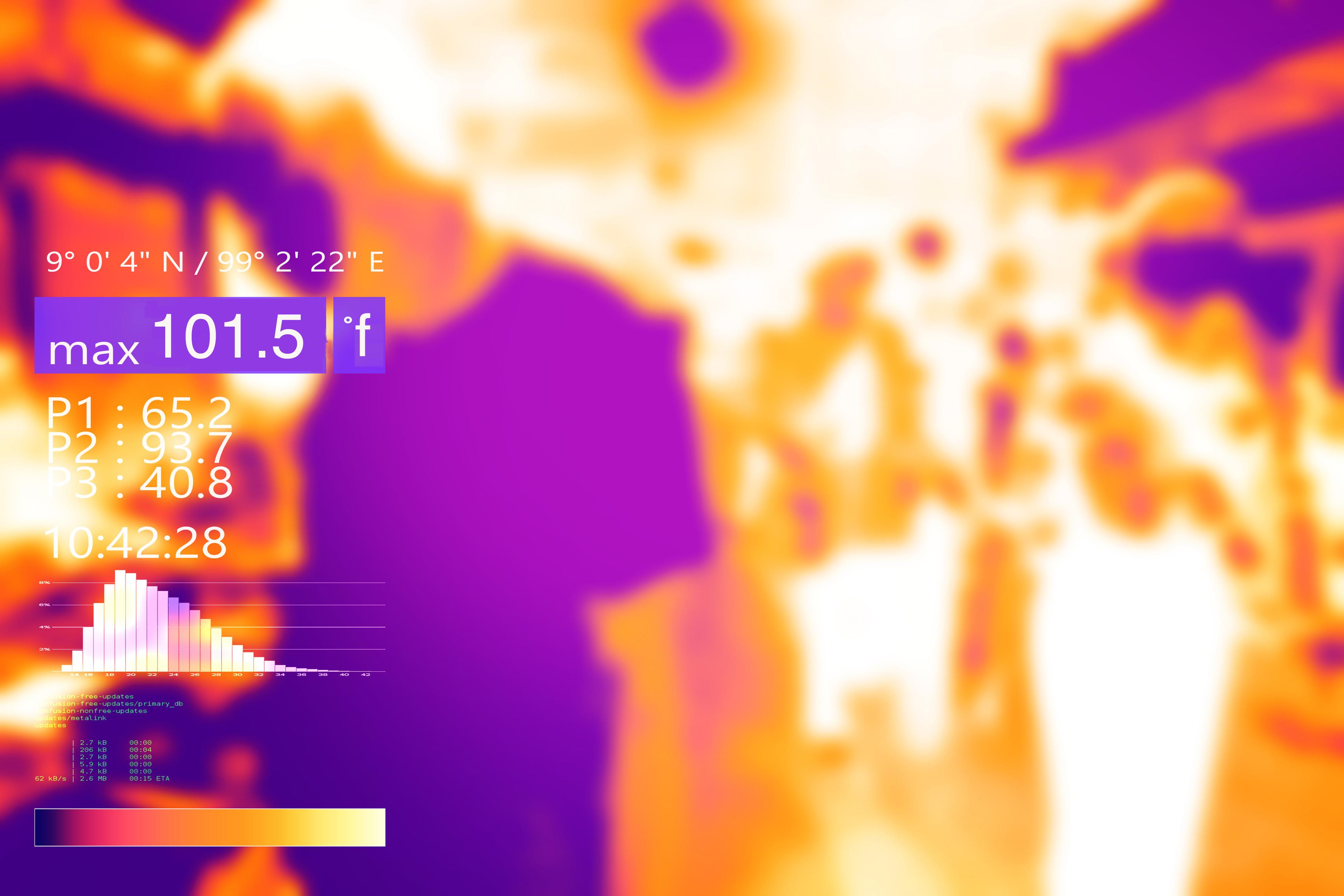 Thermal COVID-19 test