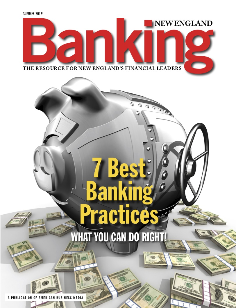 Cover of Banking New England Magazine