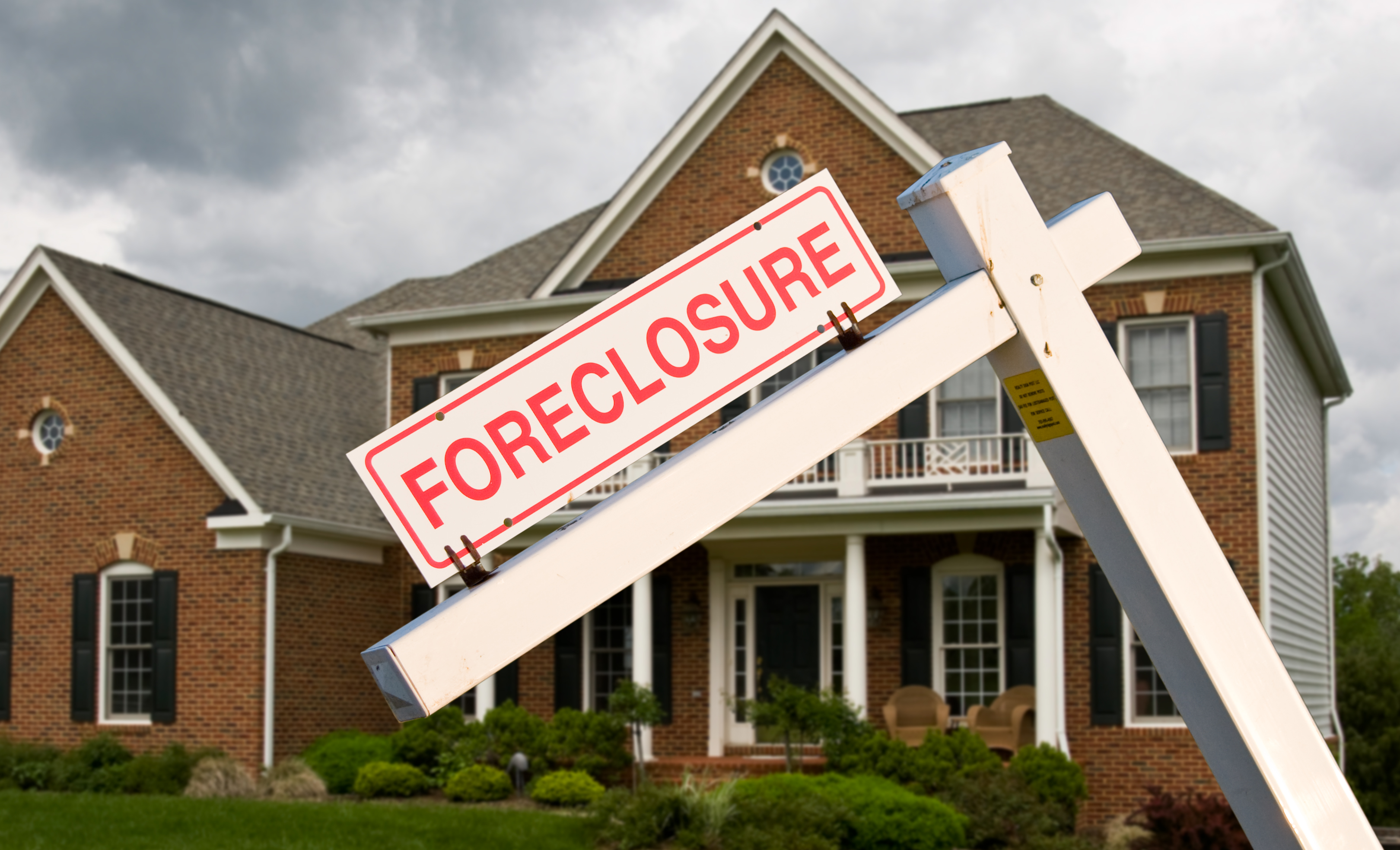 Foreclosure sign outside of home | File Photo