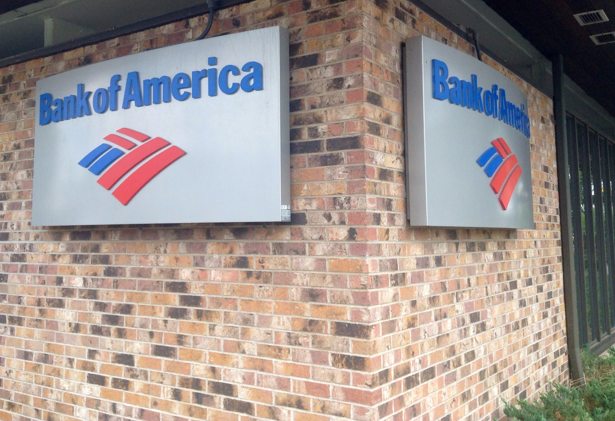 Bank of America branch location