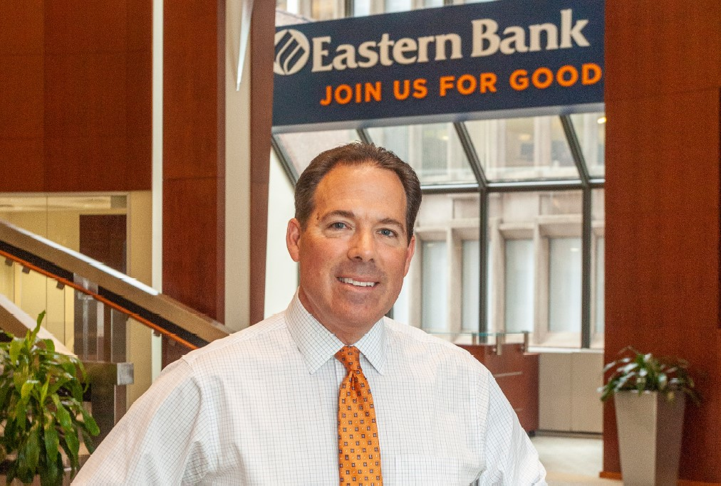 Eastern Bank CEO Bob Rivers