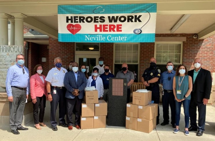 East Cambridge Savings donates PPE gowns | Contributed photo