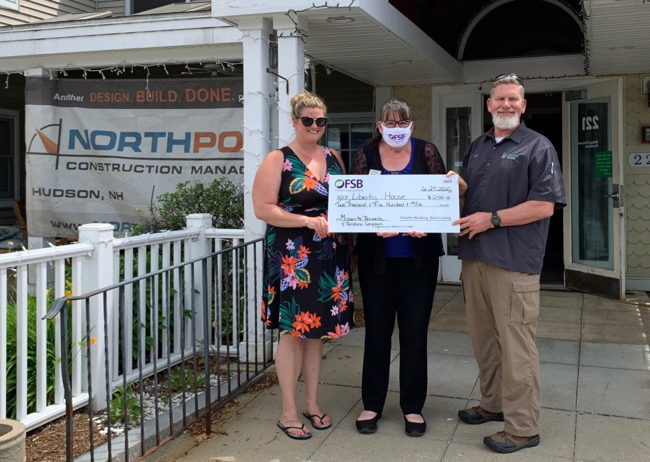 Franklin Savings Bank supports Liberty House