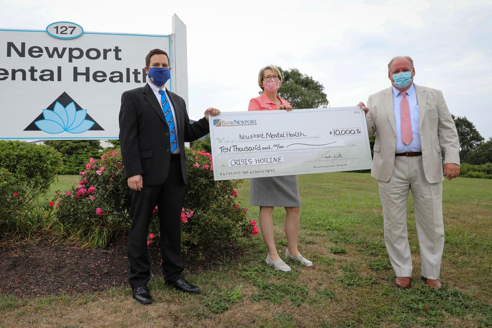 BankNewport Supports Newport Mental Health