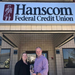 Hanscom Federal Credit Union Mastercard Award