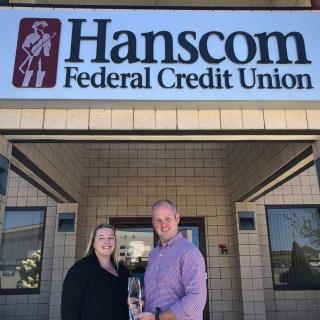 Hanscom Federal Credit Union Mastercard Award