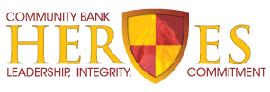 Community Bank Heroes Logo