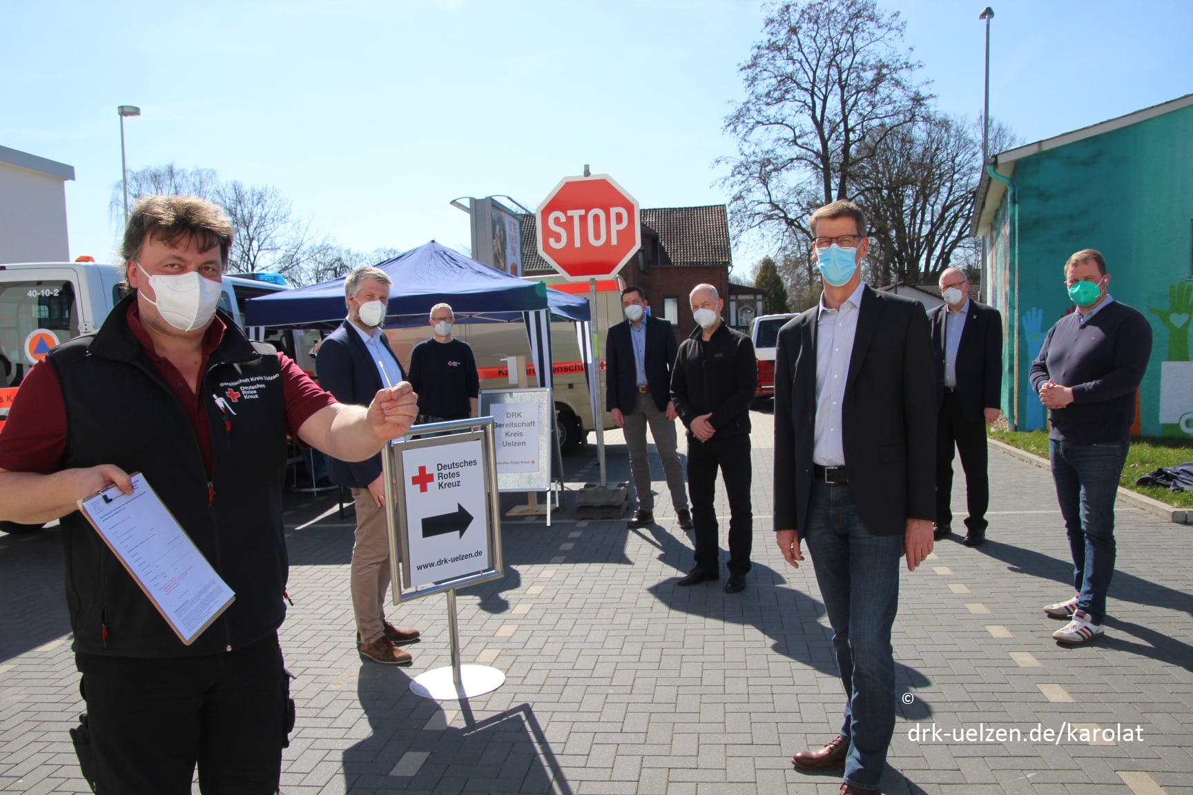 Kostenlose Bürgertestungen in der Samtgemeinde Suderburg
