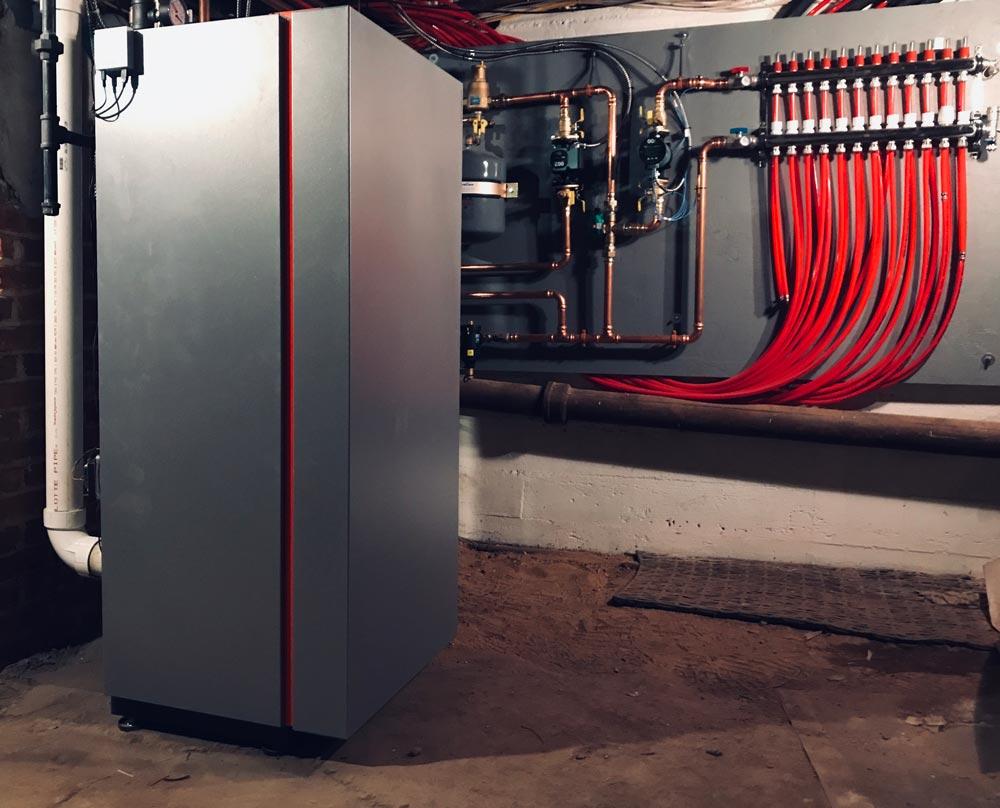 High efficiency boiler installation in Nassau County, NY