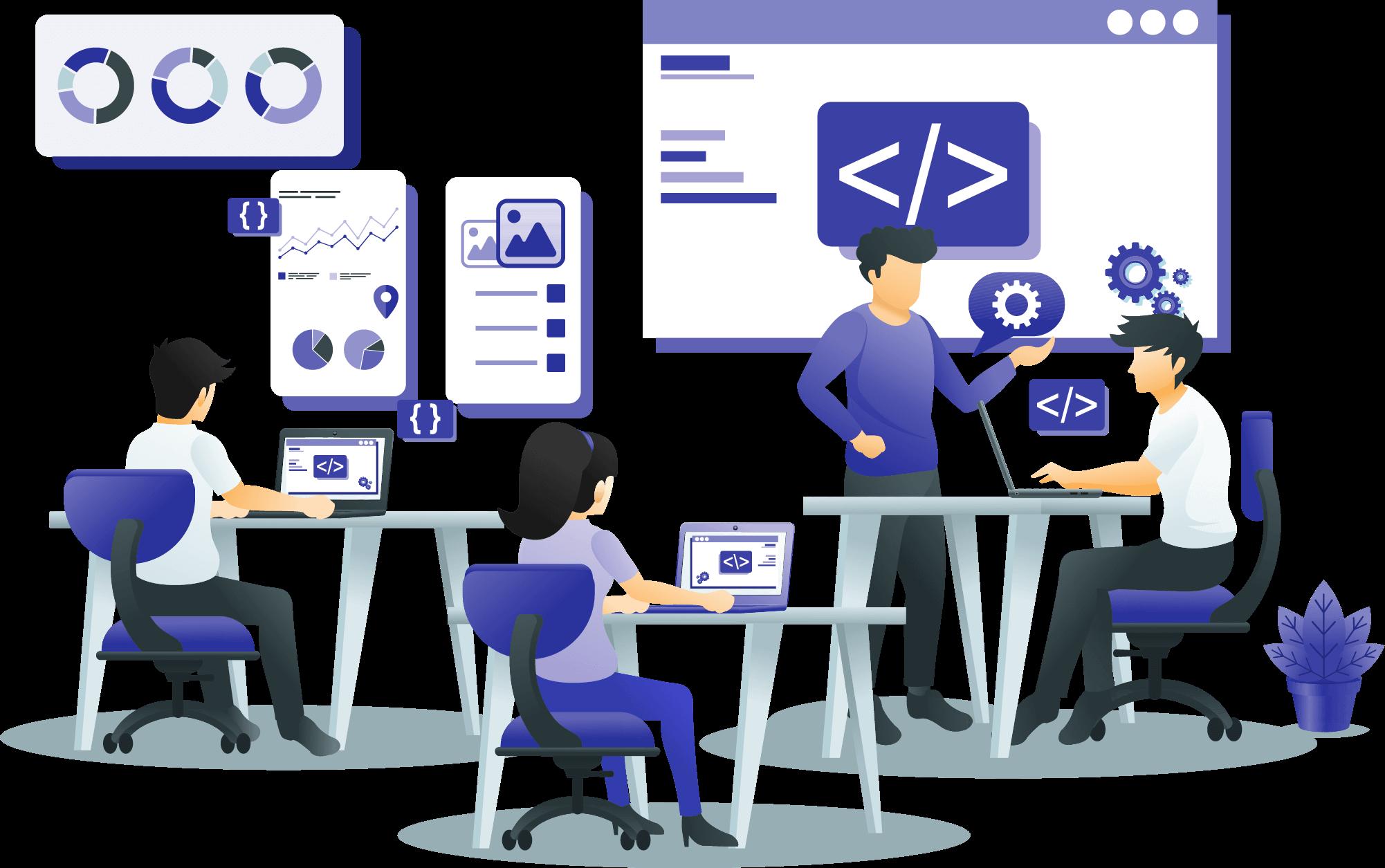 Back-end programming
