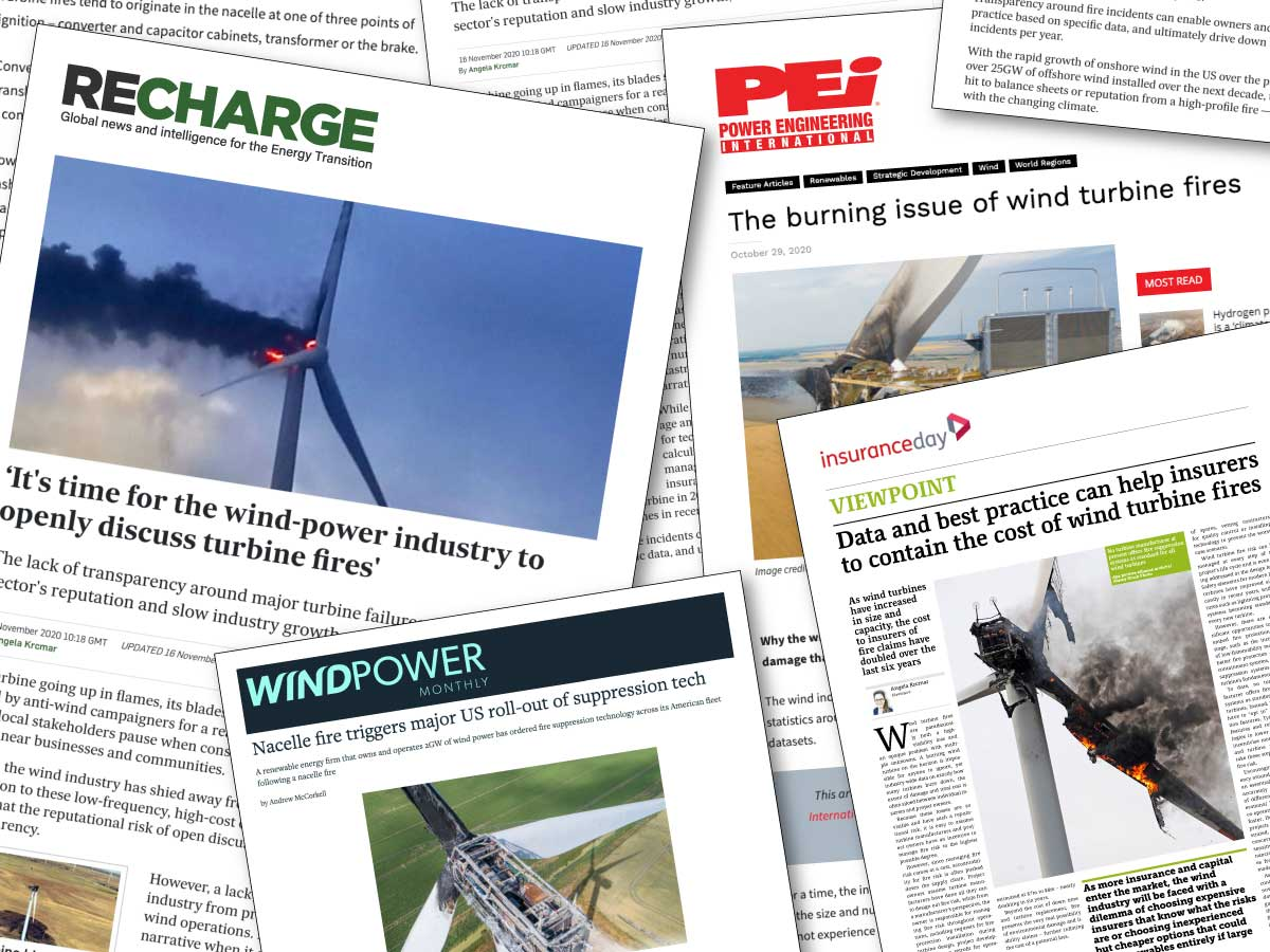 Growing business with wind turbine OEMs and wind farm owners