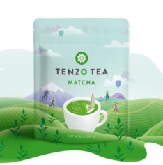 tenzo tea packaging design