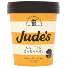 judes ice cream packaging design