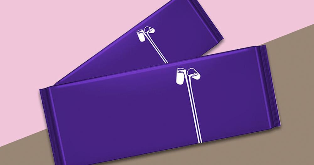Cadbury AgeUK packaging