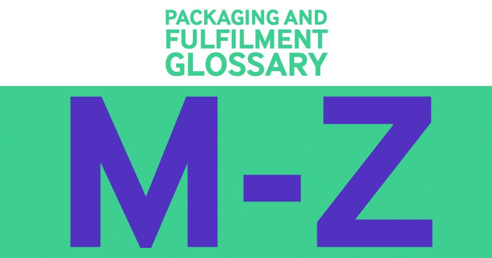 glossary m-z