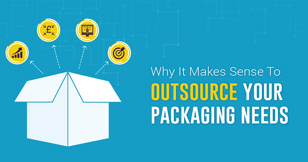 Outsourcing packaging graphic